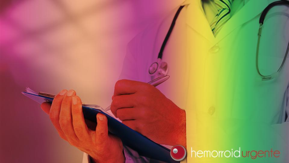 Qual é o médico que cuida da hemorroida?