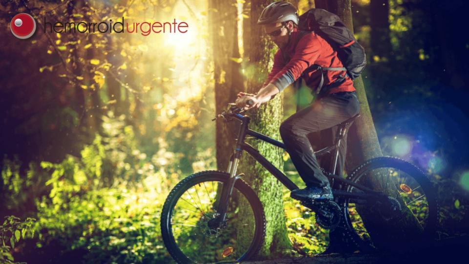 Andar de bicicleta pode causar hemorroida?
